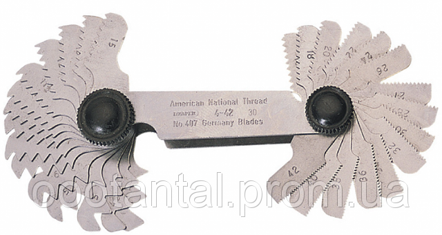 Inch benang silindris Inggris Whitworth BSW (British Standard Whitworth)